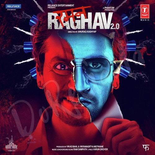 Raman-Raghav-2-0-Hindi-2016 Cd Front cover Poster wallpaper