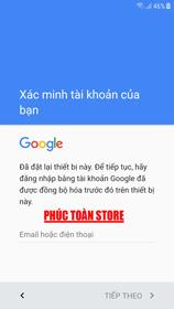 Xóa tài khoản google samsung g610f