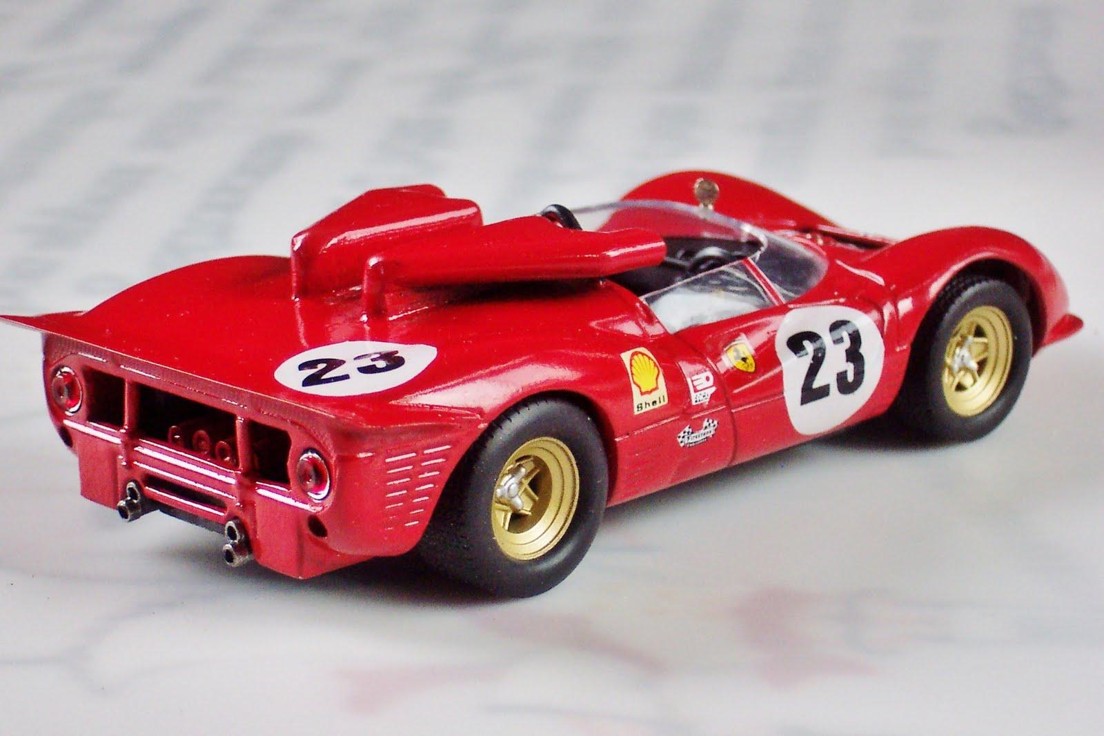 1 43 Canam And Usrrc Ferrari 350 P4