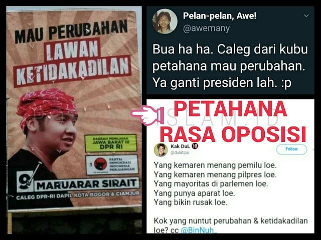 NGAKAK KOCAK! Caleg PDI P Maruarar Sirait Serukan Lawan Ketidakadilan, Warganet: Petahana Rasa Oposisi!!