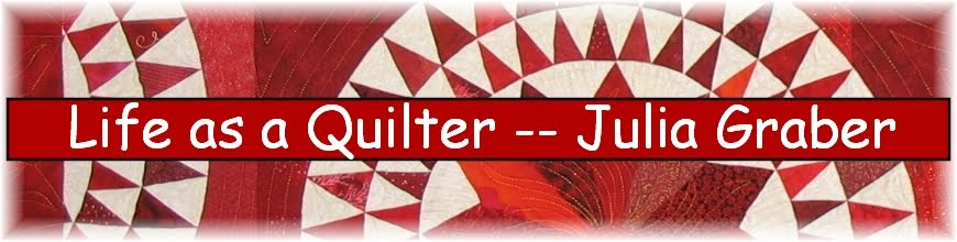 Life as a Quilter -- Julia Graber