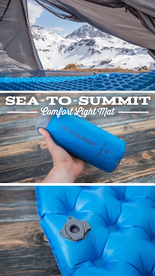 Sea-to-Summit Comfort Light Mat – Isomatte | Gear Review | Schlafmatten im Test | Outdoor Equipment Vergleich | aufblasbare Schlafmatte