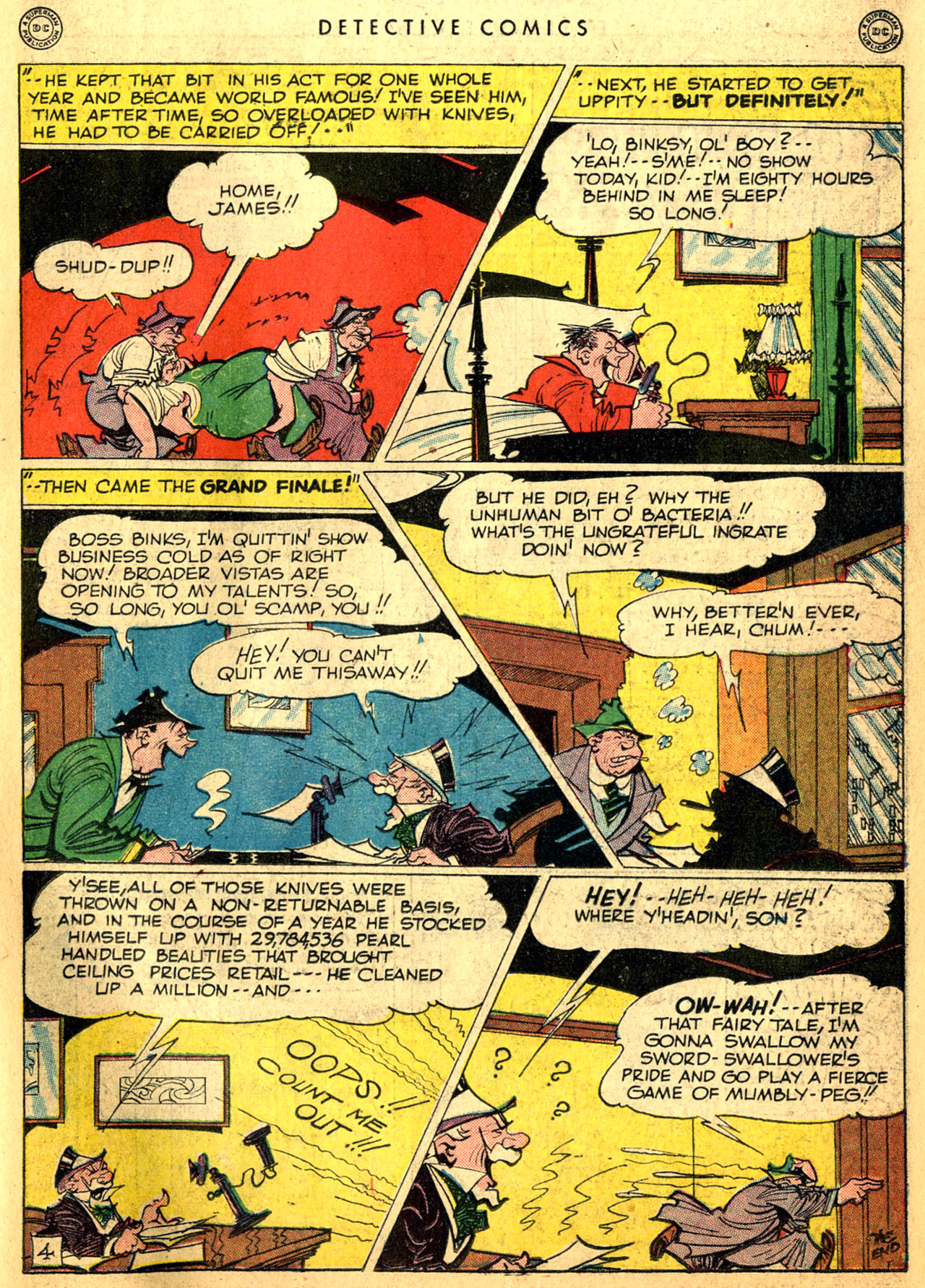 Read online Detective Comics (1937) comic -  Issue #117 - 35