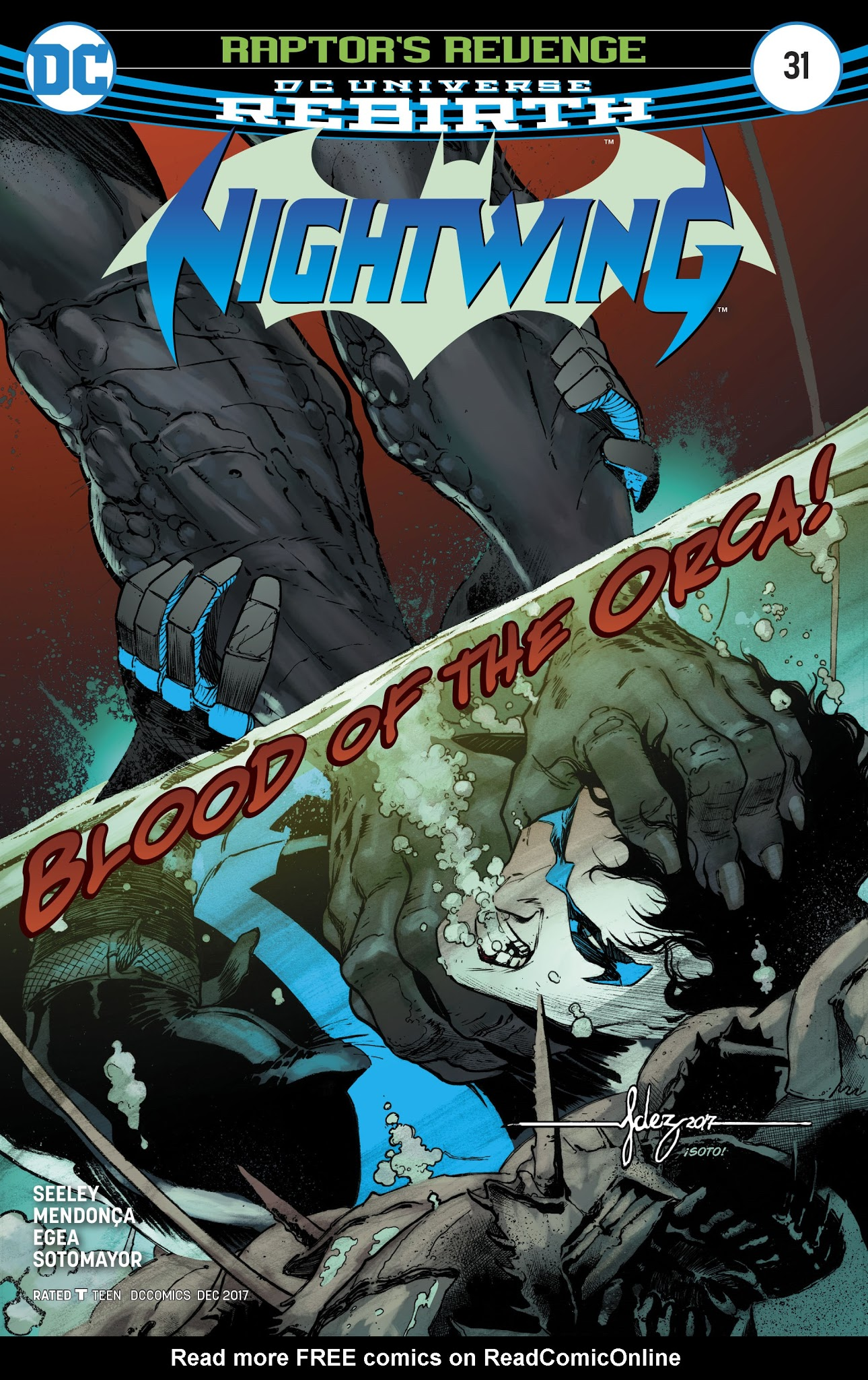 Nightwing (2016) 31 Page 1
