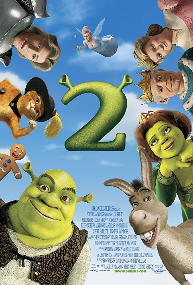 Capa Shrek 2 Dublado Torrent