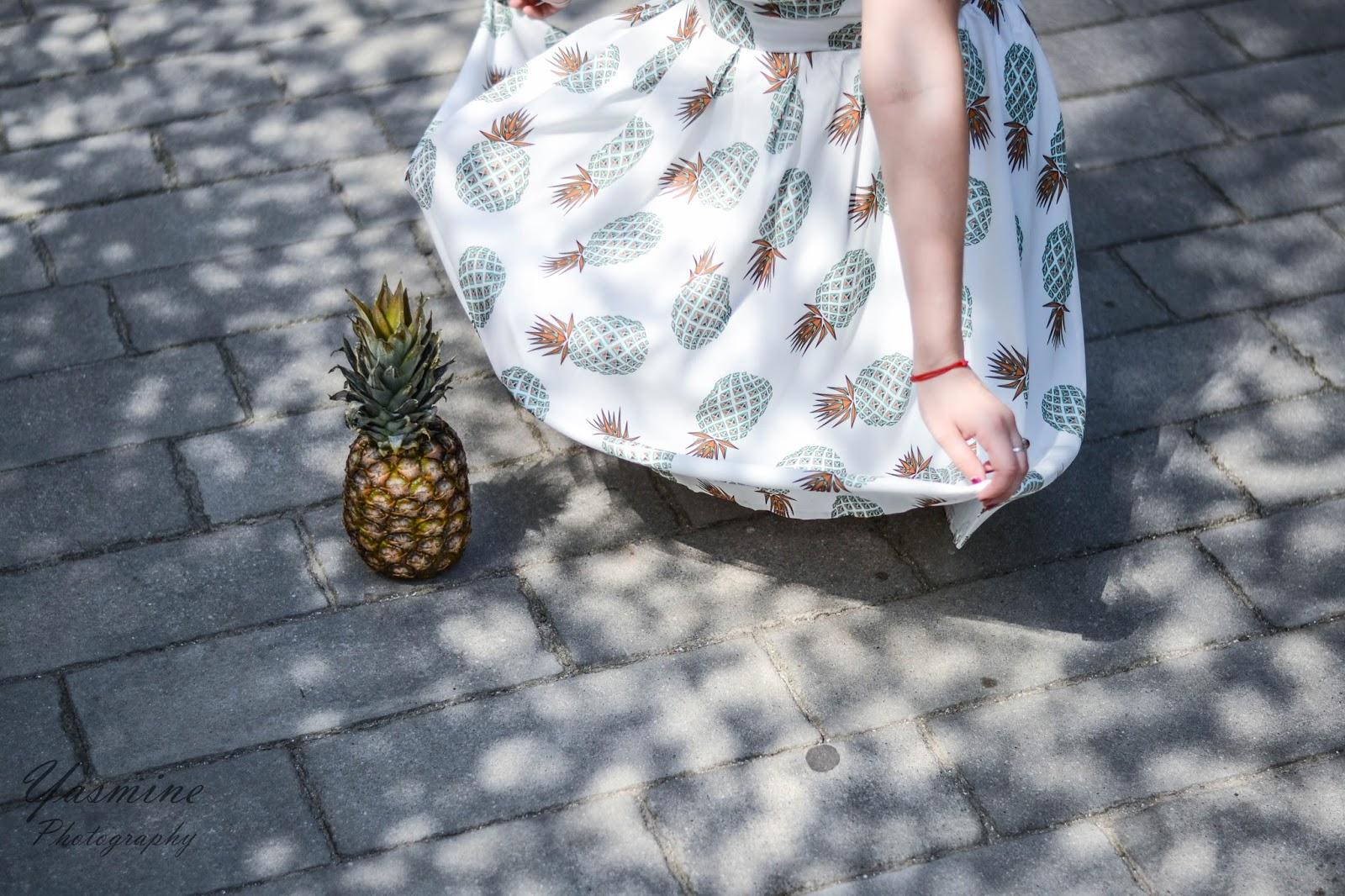 czy warto kupowac na stronach chińskich sklepów zaful sammydress dresslink sukienka w ananasy chińskie sklepy internetowe jakość pineapple dress fashion style melodylaniella yasmine photography e