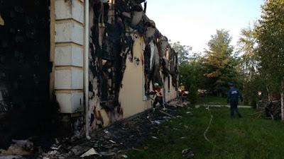 Пожежу гасили 75 чоловік