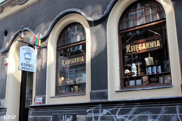 Kornel i przyjaciele - kawiarnia, księgarnia, antykwariat
