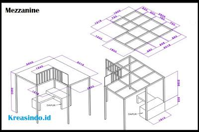 Jasa Pembuatan Mezzanine Seluruh Jabodetabek