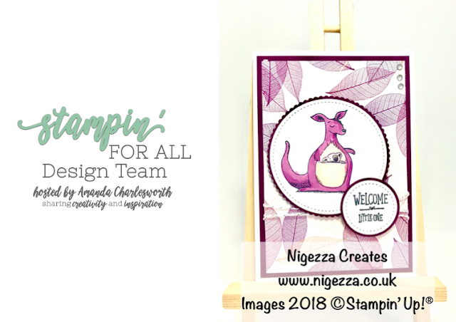Stampin' For All DT Challenge Using Stampin' Up!® Animal Outing