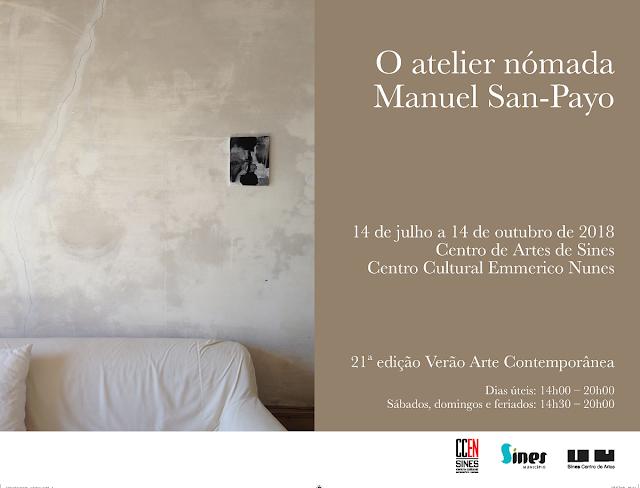 Um-aniversário-exposições-espetáculos-e-o-Mundial-convite-exposição-manuel-san-payo-sines-armazem-de-ideias-ilimitada
