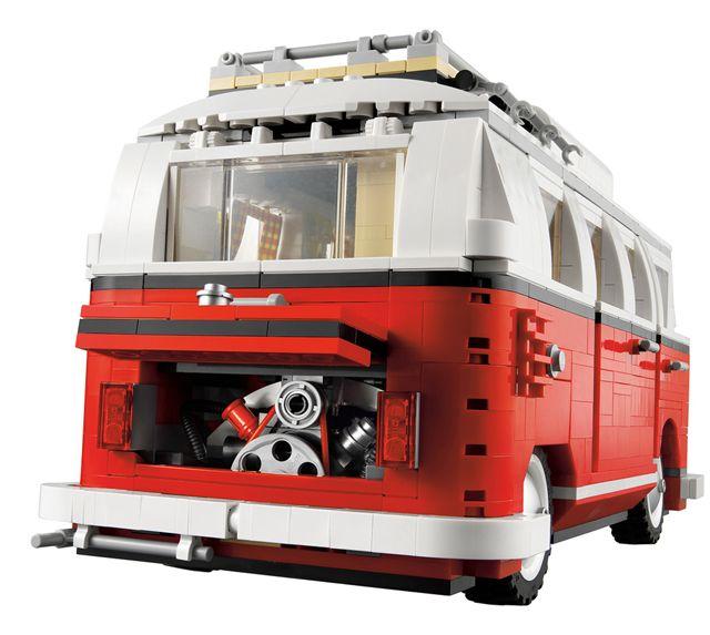 der large lego vw camping bus 1962. Black Bedroom Furniture Sets. Home Design Ideas