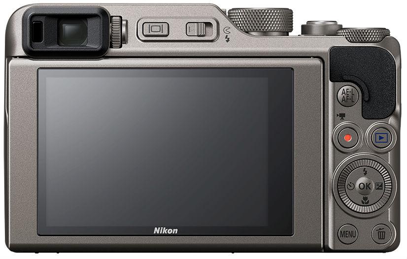 Nikon Coolpix A1000, вид сзади