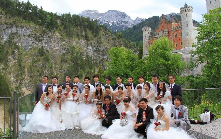 Marrige Wedding Castle Germany At Neuschwanstein