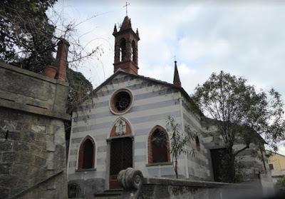 chiesa della Madonna della Neve ad Anzo di Framura