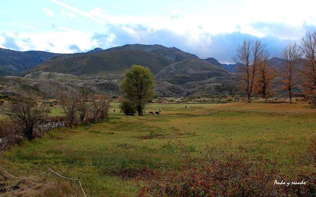 Los bellos paisajes de la comarca de Babia en León