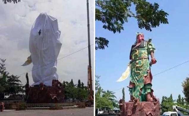 Kokam Jateng Desak Patung Jendral Perang China di Tuban Dihancurkan