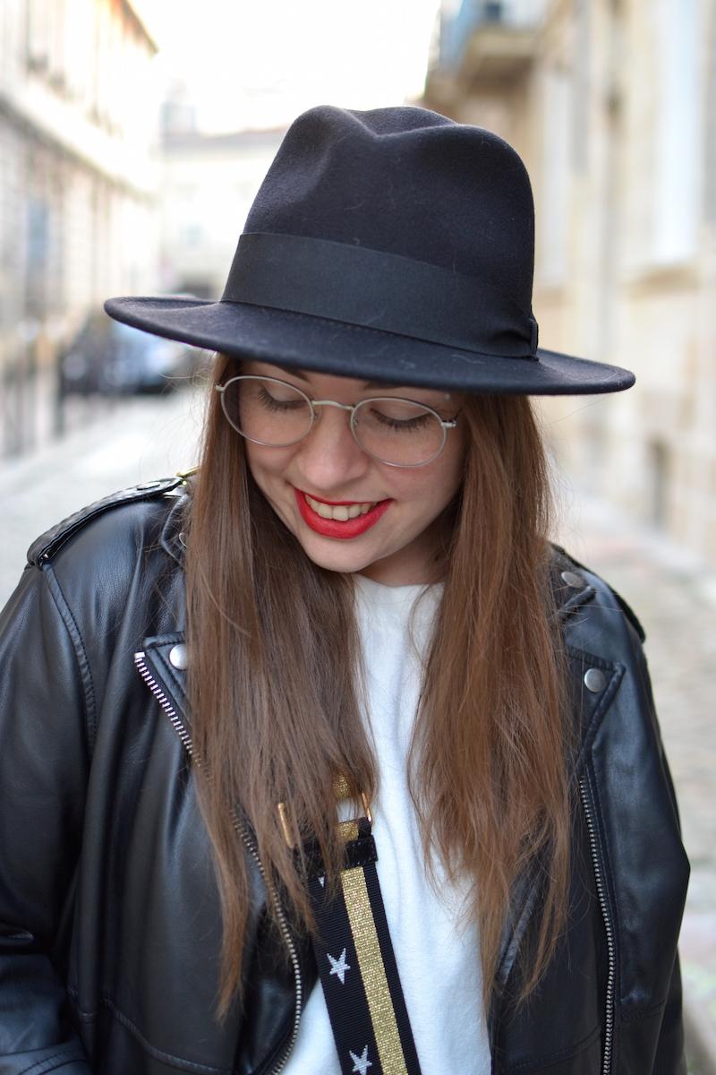 chapeau noir Bonclicbongenre