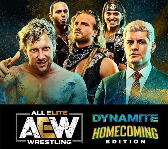 AEW Dynamite (22 January 2020) English 350MB HDTV 480p