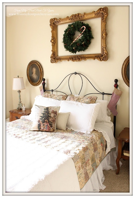 Farmhouse-Ballard Designs Bedding-Christmas Guest Bedroom-From My Front Porch To Yours