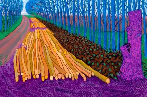 David HOCKNEY  Lpope du paysage