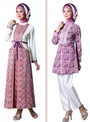 10 Model Kebaya Batik Modern Hijab Terbaru 2020 - Aisyah ...