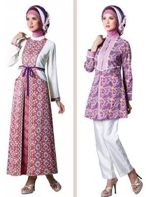 baju batik modern hijab