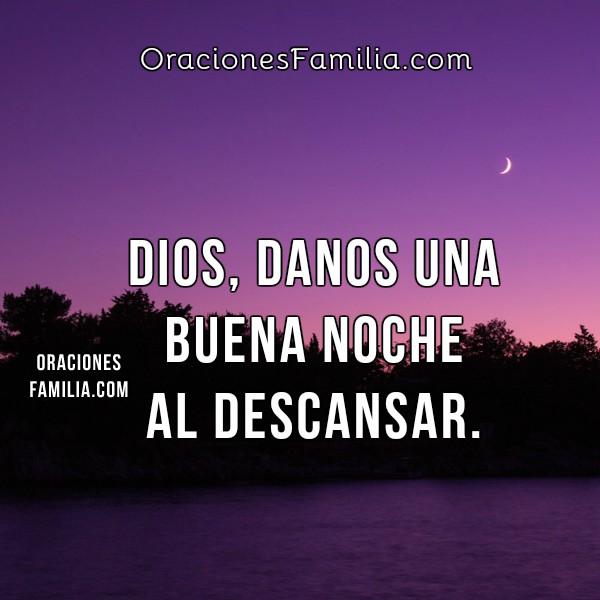 Oración de la noche, pido tu bendición en esta noche, oración cristiana por Mery Bracho.