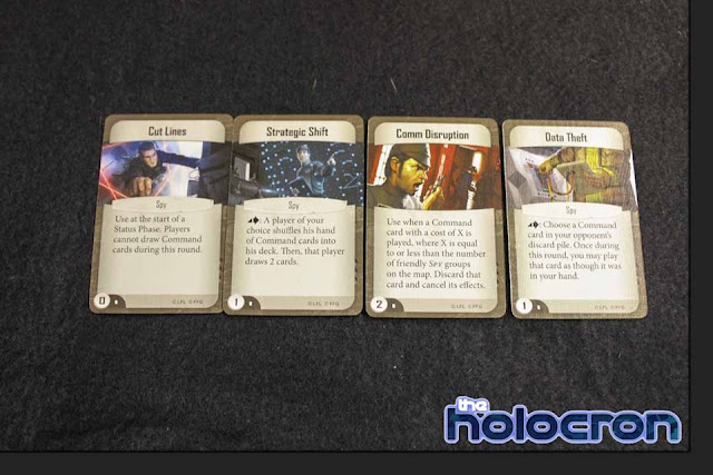 Imperial Assault Se filtran todas las cartas de ISB Infiltrator