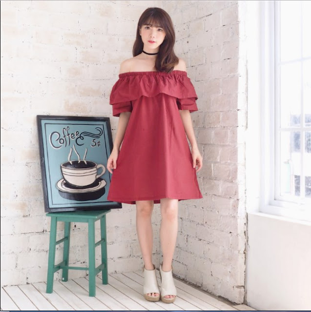Model baju Sabrina Untuk Gaya Penampilanmu Yang Semakin Kece