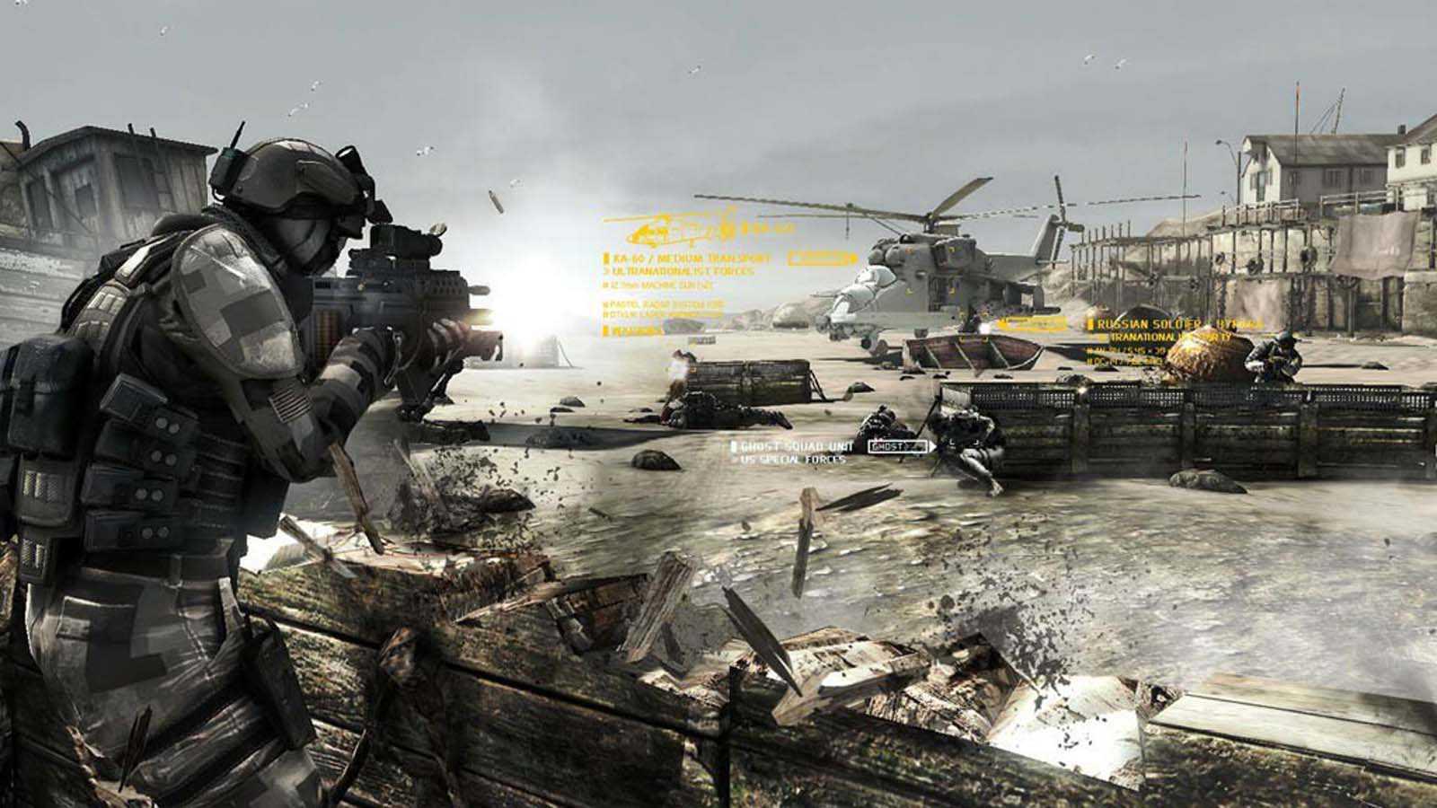 تحميل لعبة Ghost Recon Future Soldier مضغوطة برابط واحد مباشر كاملة مجانا