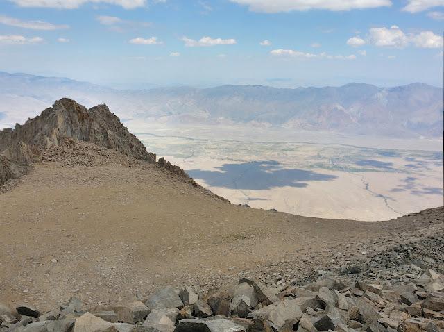 sub peak of Mount Williamson