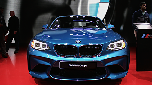 bmw m2 coupe detroit auto show