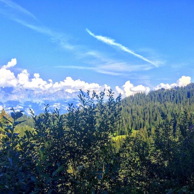 Hiking mountains near Zurich