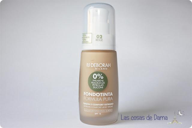 Formula Pura Deborah Milano maquillaje piel sensible