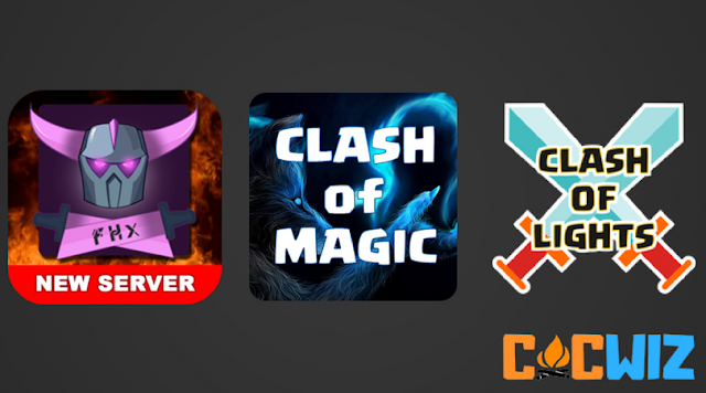List of All Clash of Clans Private server