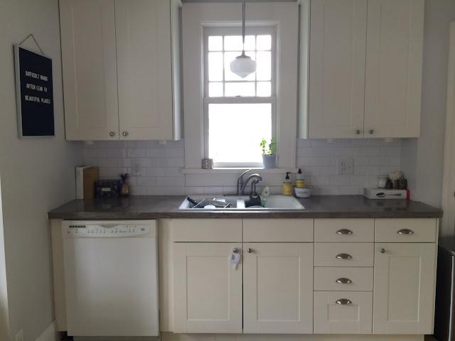 Discolored Kitchen Sink