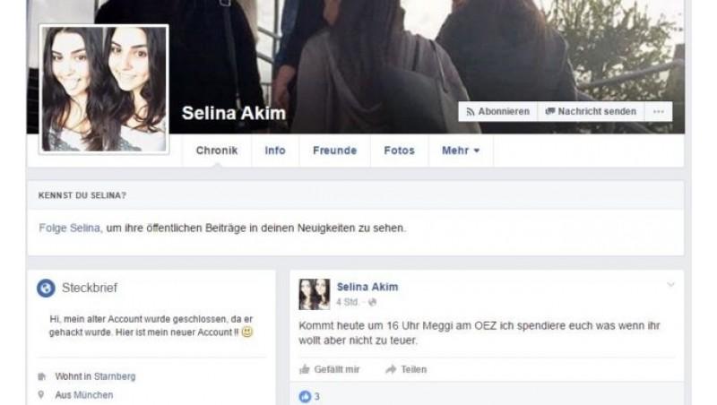 Penampakan akun Selina Akim yang telah ditutup FB