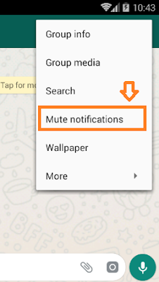 How To Mute WhatsApp Group Chat Notifications On iPhone & Android   WhatsApp Tips