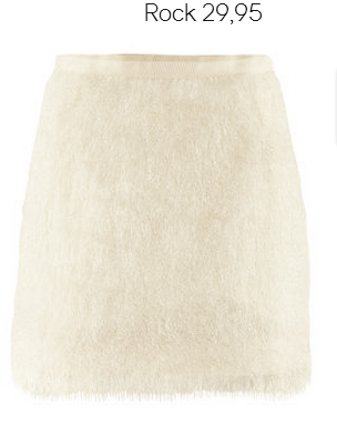 White Fringe Skirt H&M Fall 2012 Collection