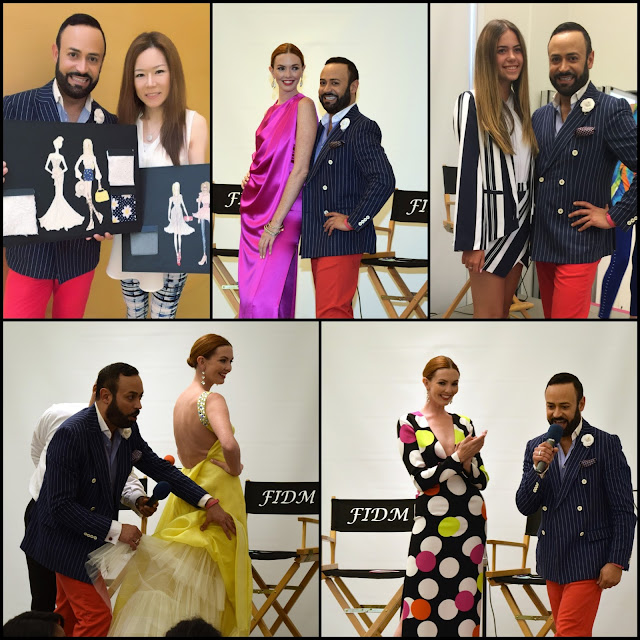 "NICK VERREOS FIDM......Nick Verreos Special Appearance at FIDM Orange County ""3 Days of Fashion 2016"": BLOG RECAP!"