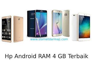 Hp Android RAM 4 GB Terbaik