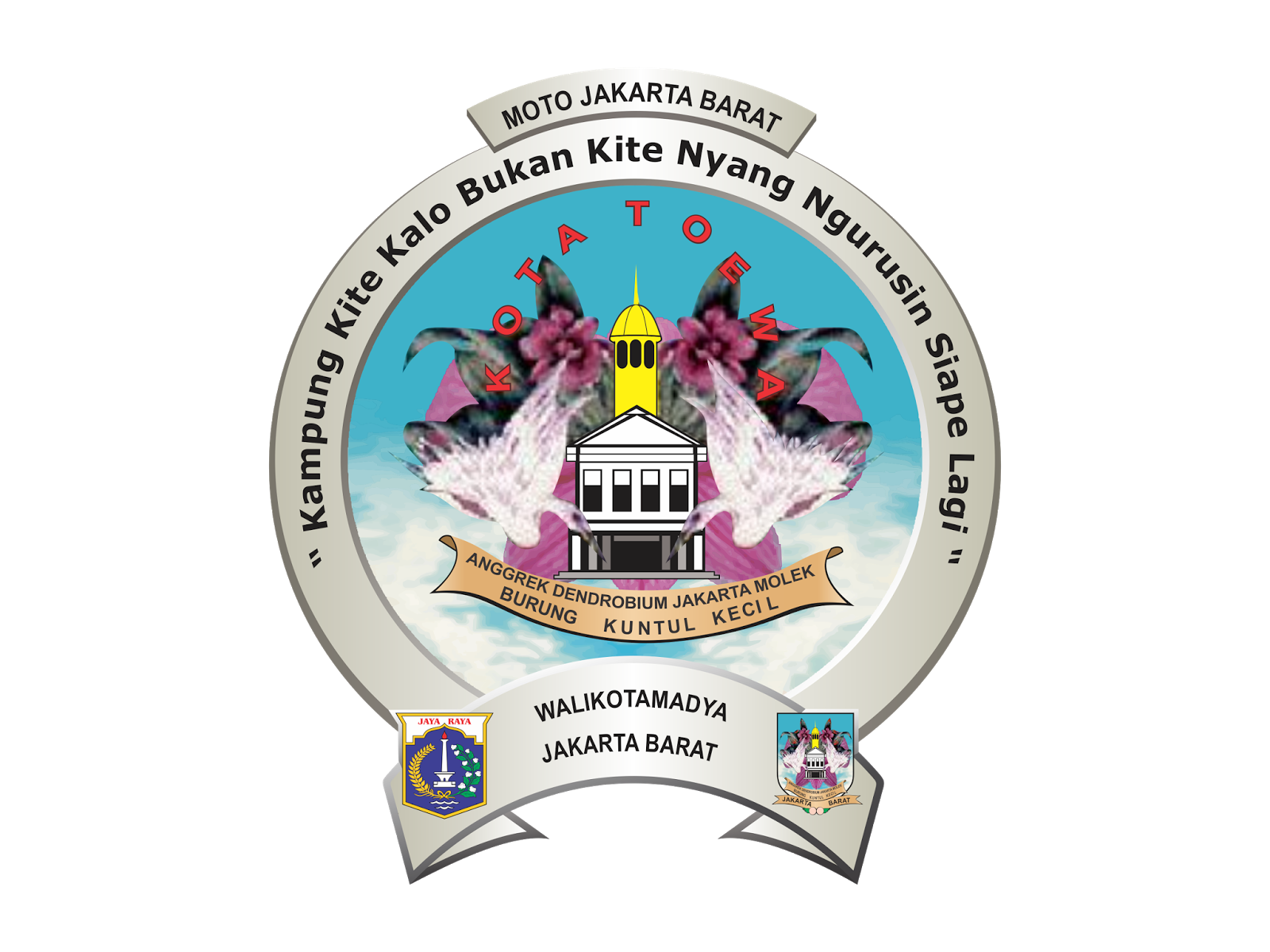 Warung Vector Logo Kota Administrasi Jakarta Barat Vector Cdr Png Hd