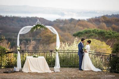 foto matrimonio roma inverno