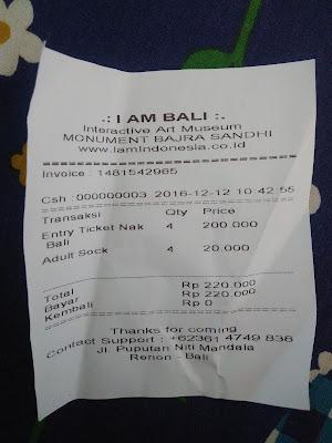harga tiket masuk I Am Bali - 3D Interactive Art Museum