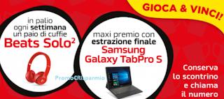 Logo Vinci subito 15 cuffie Beats Solo2 e Samsung Galaxy TabPro S LTE