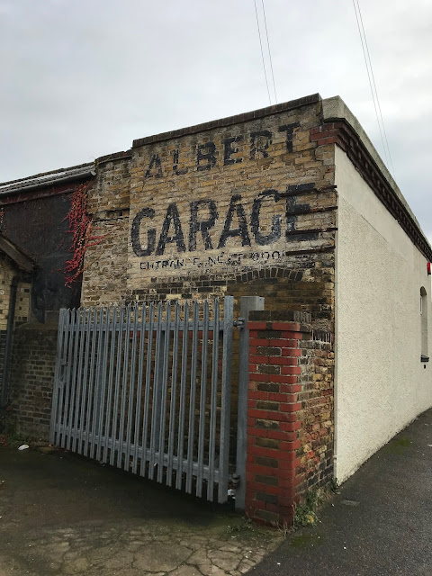 Albert Garage Ghost sign, Margate Station, Kent