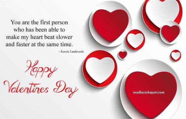 Valentine Day Hindi Shayari Images