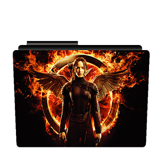 Preview of jennifer lawrence, mocking jay, movie, folder icon