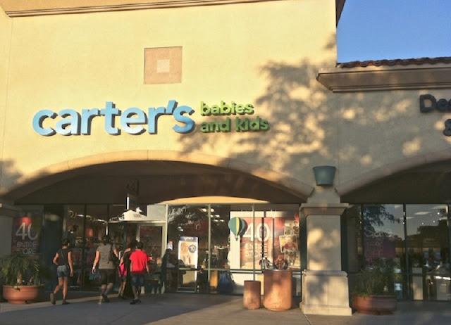 Loja Carter's para o enxoval do bebe em Los Angeles